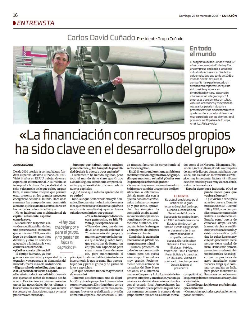 La Razon TU ECONOMIA 22.03.15 copia