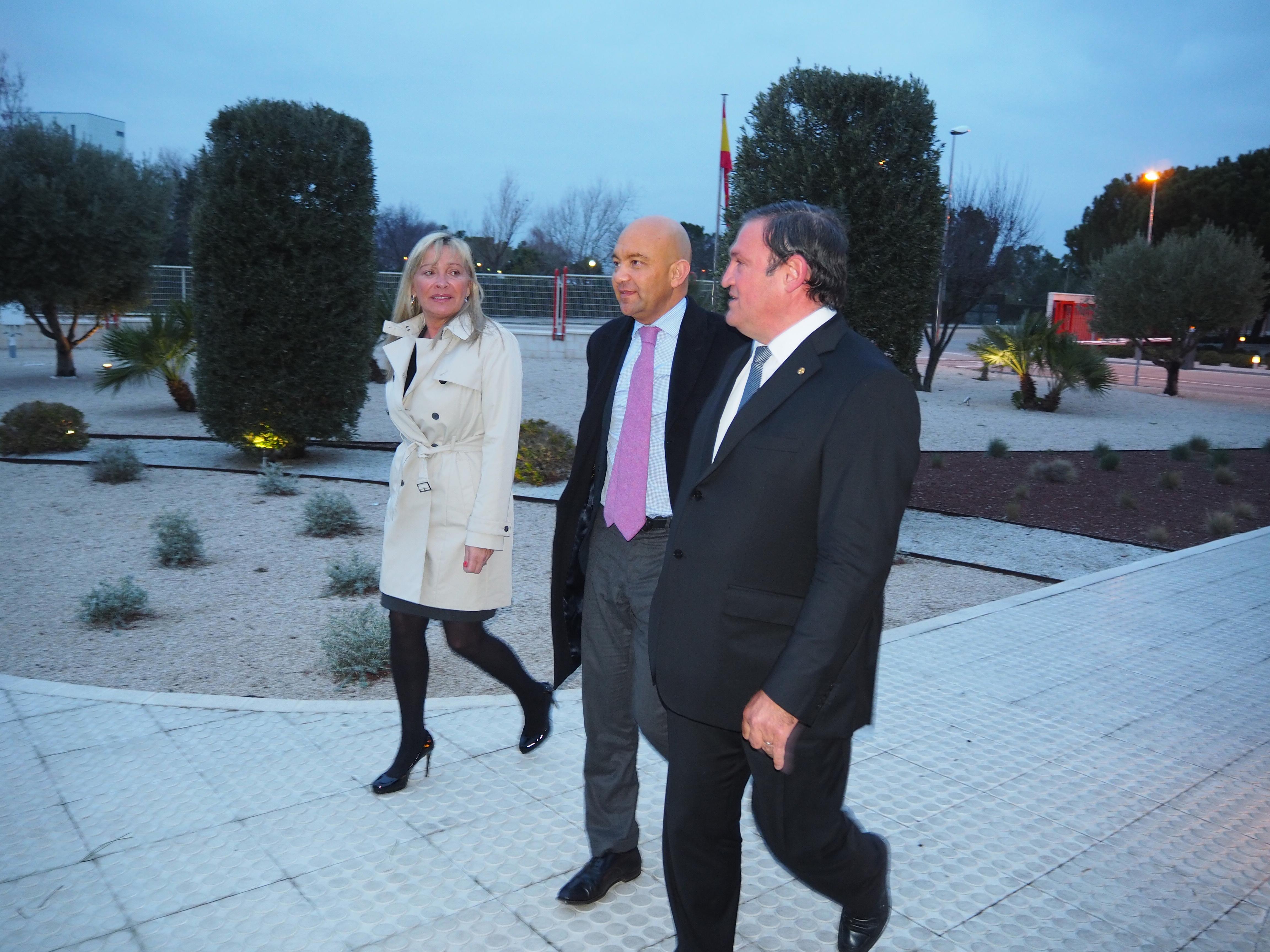 Visita Secretario Estado de Comercio