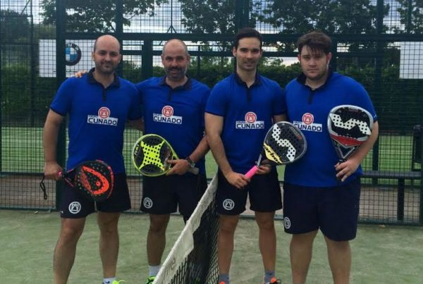 grupo cuñado con el deporte