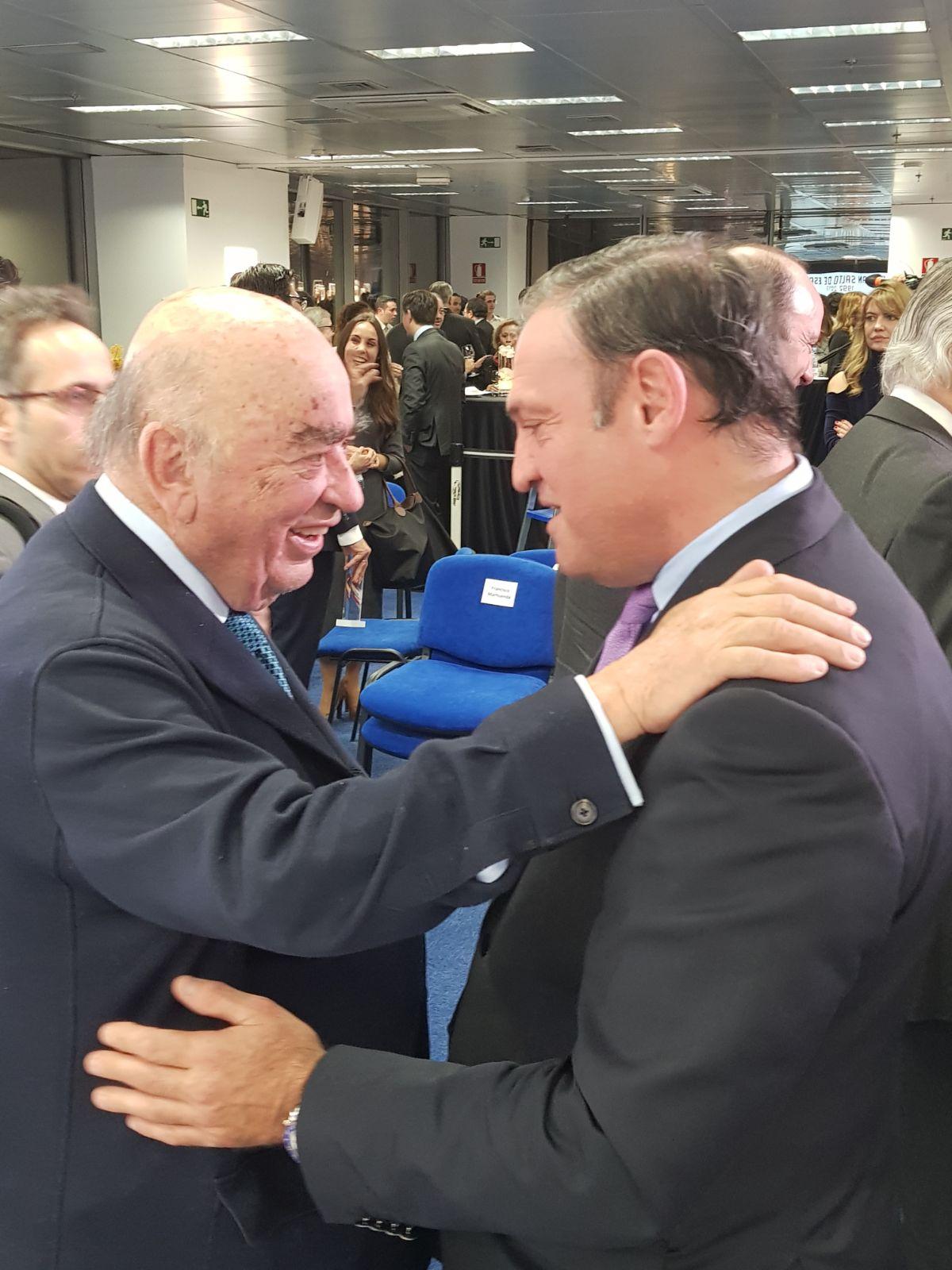 Carlos D. Cuñado con D. José Lladó