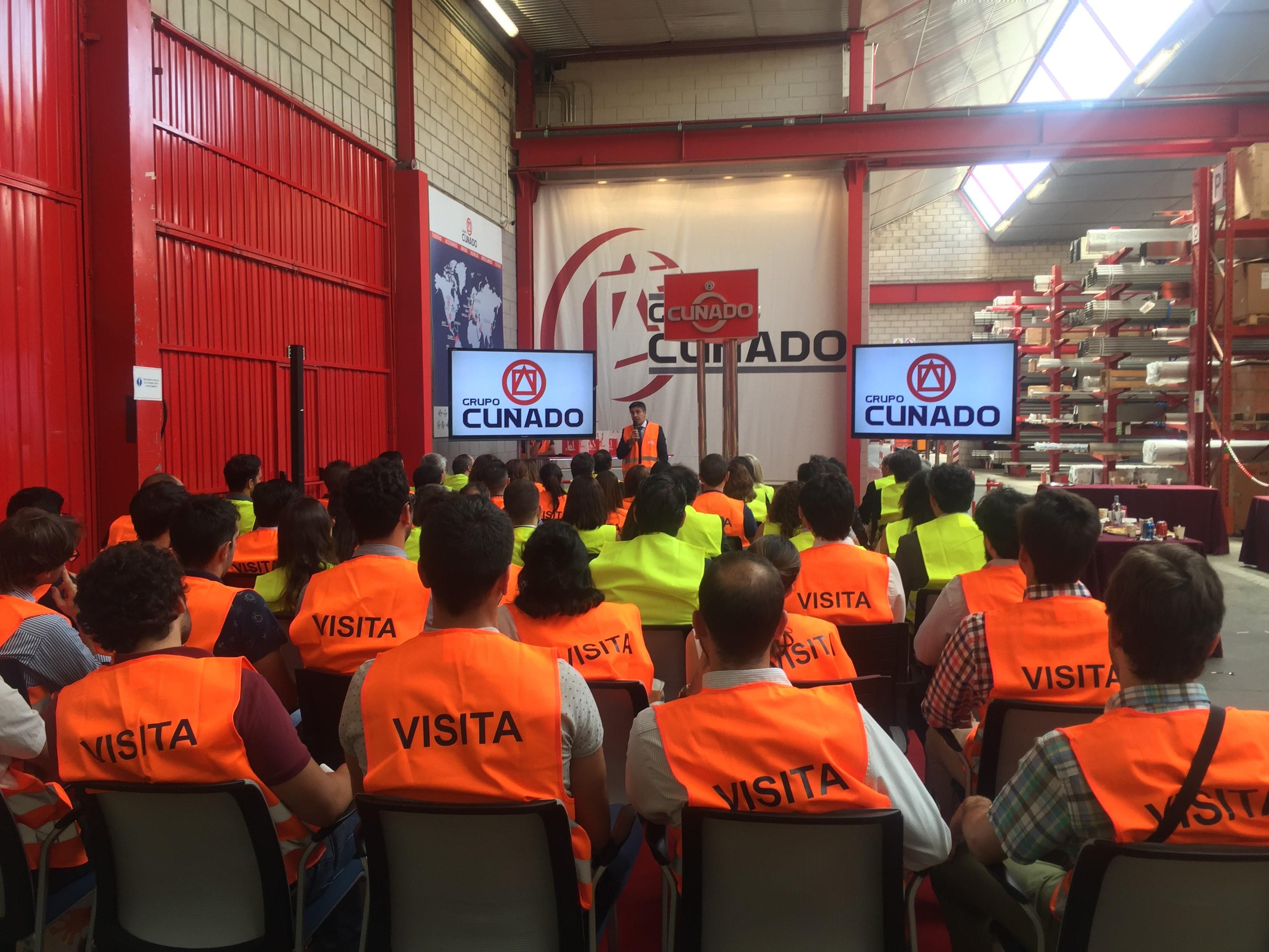 Técnicas Reunidas visits Grupo Cuñado